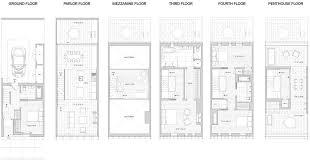 Brooklyn Brownstone Floor Plans Alloy Completes Skinny Townhouses In Dumbo Brooklyn