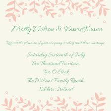 wedding invitations kildare writing wedding invitations how to approach it west coast