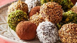 thanksgiving truffles date truffles