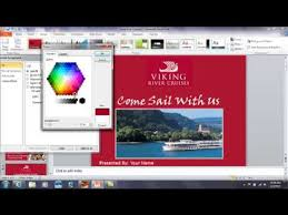 powerpoint how to match up a background color to an existing