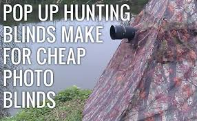 Pop Up Hunting Blinds Pop Up Hunting Blinds Also Double As A Great Wildlife Photo Tool
