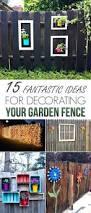 Garden Fence Decor Decorations Fence Decorations Ideas For Christmas Corner Fence