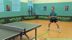 ping pong vs table tennis how to play ping pong table tennis with pictures wikihow