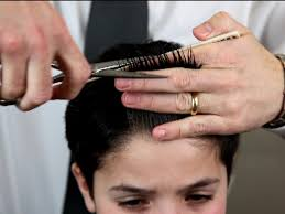 trimming hair angle cut how to cut hair learn about basic barbering techniques barbering