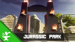 Jurassic Park Map Halo 5 Forge Maps Jurassic Park Youtube