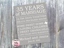 35th wedding anniversary gift 19 best anniversary images on 35th wedding anniversary
