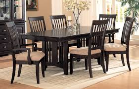 Mission Style Dining Room Table by Coaster Fine Furniture 100181 100182 100183 Monaco Double Pedestal