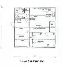3 Bed Bungalow Floor Plans 3 Bedroom Floor Plan Bungalow Bedroom
