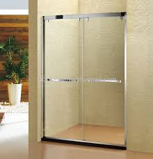 stainless steel 304 shower screen double movable sliding shower