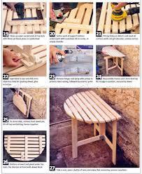 folding outdoor table plans u2022 woodarchivist
