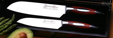 german kitchen knives rhineland cutlery 2pc santoku set