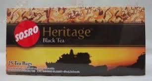 Lokol Tea heritage teh hitam celup 50 gram black tea bags 25 ct 2 gr
