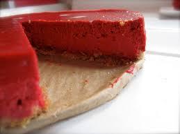 red velvet cheesecake the purple spoon