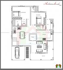 remarkable 1700 square feet house plan with pooja room