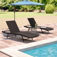 Pool Chaise Lounge Outdoor Lounge Chairs You Ll Wayfair