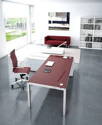 Office Desk Configurations Frosted Glass Office Desk Atken Me