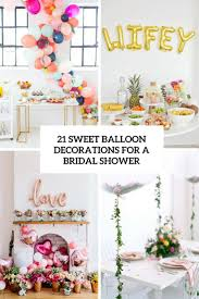 bridal shower banner phrases 21 sweet balloon decorations for a bridal shower shelterness