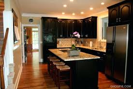 painted kitchen backsplash ideas kitchen with black cabinets fitbooster me