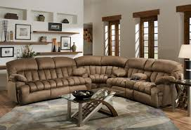 Down Sectional Sofa Franklin 568 Reclining Sectional Sofa With Drop Down Table And