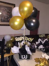 Baby Boy Shower Centerpieces by Sports Theme Babyshower Centerpiece Party Ideas Pinterest