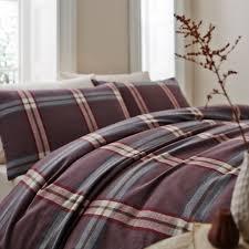 linea murray flannel check bedding range house of fraser