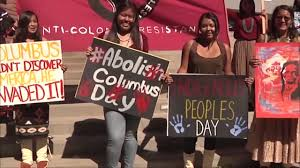 movement to change columbus day to indigenous people day youtube