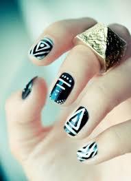 nail art designs for short nails polish
