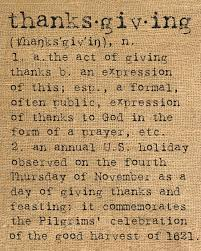 thanksgiving letters letter of recommendation