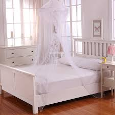 Sheer Bed Canopy Casablanca Raisinette Collapsible Hoop Sheer Bed Canopy