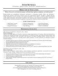 Educational Resume Samples by Sample Educational Resume 20 Higher Education Resume Samples