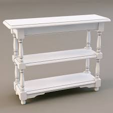3d country corner pb57 console table cgtrader