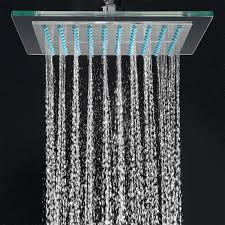 High End Shower Fixtures Akdy Az 6021 Bathroom Chrome Shower Head 8 Inch Fixed