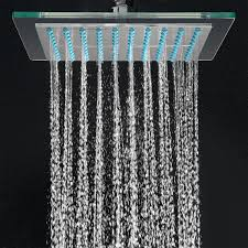 akdy az 6021 bathroom chrome shower head 8 inch fixed