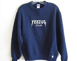 yeezus sweater tour sweatshirt