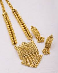yellow necklace set images Buy designer necklace sets traditional yellow gold necklace set jpg