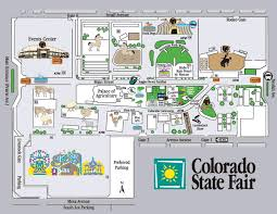 state fair map colorado state fair seasonal attractions co vacation directory