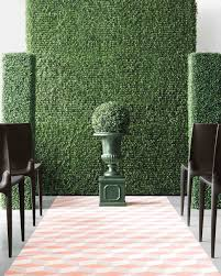 wedding backdrop green 21 creative wedding backdrop ideas martha stewart weddings
