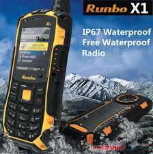 runbo x1 mobile phone vhf 136 172mhz walkie talkie u2013 walkie talkie