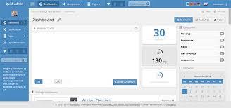 20 top admin html templates codexcoder