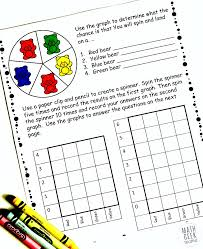 simple coloring probability worksheets for grades 4 6 free