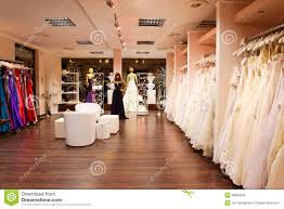 the bridal shop the bridal shop stock photography image 26664592