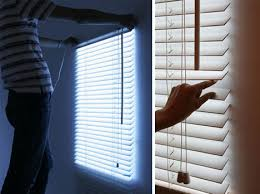 The Light That Blinds Fake Blinds With Led Lights That Increase In Intensity When You