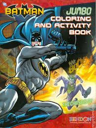 batman jumbo coloring activity book 2012 bendon publishing