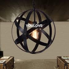 hanging globe lights indoors vintage round globe black pendant lights fixture home indoor