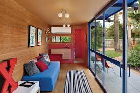 shipping container guest house jim poteet homedsgn in inside