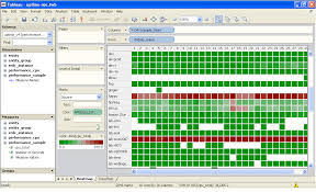 heat map in tableau workload heatmap with tableau customizing up uptime user