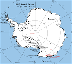 map of antarctic stations the climate of antarctica