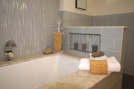 glass tile ideas for small bathrooms modern concept bathroom glass tile tub bathrooms in excellent
