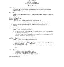 Child Care Assistant Resume Sample Download Daycare Teacher Resume Haadyaooverbayresort Com