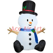 Outdoor Lighted Snowman Decorations by Popular Inflatable Outdoor Snowman Buy Cheap Inflatable Outdoor